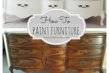 Painting Old Furniture