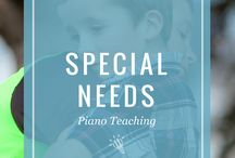 Special Needs Piano Teaching