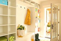 Entryway / Ideas for organizing systems for that transitional space in your entryway.