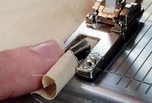 Sewing machine feet and how to use them