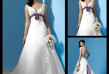 Wedding dress-A line