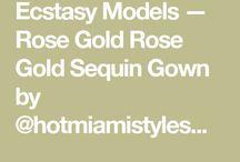 ecstasy models rose gold