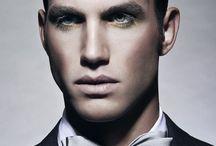 male catwalk makeup