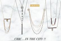 CHIC...IN THE CITY !! / Ιδέες για τις πιο chic εμφανίσεις στα καταστήματα gini... Μπες στο goo.gl/8gUa4C και ανακάλυψε τις νέες chic&elegant αλυσίδες από την πλούσια συλλογή μας... Συνδύασε τις με κρύσταλλα και στοιχεία φιλιγκρί, για δημιουργίες με minimal look...
