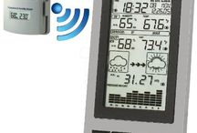 Weather Stations For Home Reviews / This kind of weather station shows,  temperature and humidity (either inside and outside), wind direction, wind speed, rainfall as well as barometric pressure. For more Weather Stations For Home Reviews drop us a visit!
