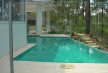 Glass pool fencing brisbane / Glass pool fencing is one of the most practical fencing which prevents children and adults too from accidentally falling into the pool. It makes the pool area safer and enhances that elegant appearance.