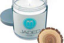 Aromatherapy Candles / Handmade Soy scented Candles, Made By The Jaded WorkShop