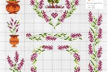 cross stitch,  вышивка, haft
