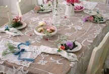 Linens & Lace / I love Linens and Lace~