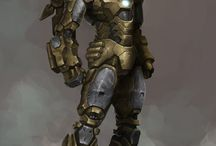 Mechs, Borgs & Power Armors / Mechy, Borgi i Zbroje Wspomagane