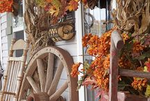Fall andThanksgiving decorating / A time that brings to mind how thankful we should be everyday! / by Joan Clapp