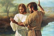 Jezus syn Boga -Chrzest Jezusa przez Jana Chrzciciela.