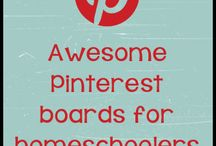 Pinterest Boards for Home Educators