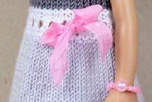 Кукольное вязаное