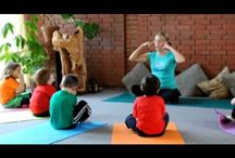 Imagination Yoga - Yoga for Kids / Imagination Yoga is a kids yoga program where a certified Imagination Yoga® Teacher takes a class of kids on grand adventures as they imagine Yoga in the Castle, on the Farm, in Outer Space, etc. while learning beautiful Yoga poses and finding great concentration, relaxation and body awareness through visualization, breath, movement and music.