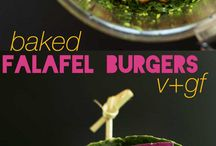 Healthy food / Falafel burger