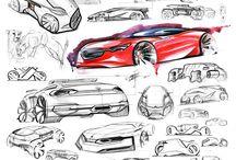 Car design & sketches