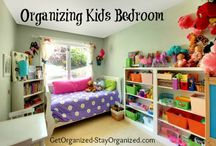 Children's Bedrooms / Suggestions for keeping a young child's (elementary age) bedroom organized