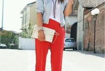 Red pants and love