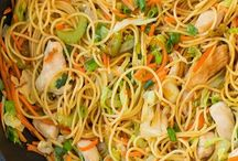chicken chow mein and more Chinese foods
