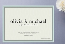 Beautifully Simple Save the Dates