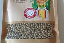 White Pepper / 100% Natural and exotic spices from God's own country, Kerala.