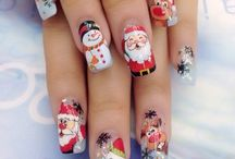 Christmas nails dreamy