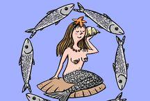 MERMAID / Mermaid's illustrations