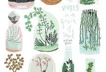 Illustrations / Inspirational illustrations and designs