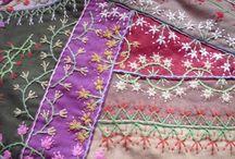 Hímzett patchwork