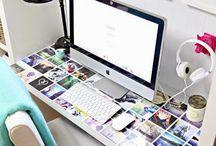 íróasztal diszitese rendszerezése