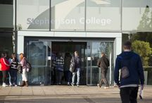 Campuses @ Stephenson Coll / Pictures of all the goings on at Stephenson College's three campuses in Leicestershire and Nottingham City Centre.