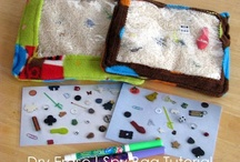 SAHM crafts to do with my daughters / by Samantha Thiara