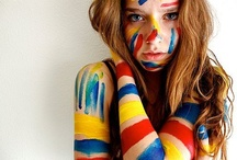 Photography: extreme makeup and body-art