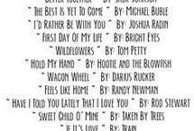 Wedding Playlists