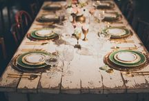 Wedding Decorations / Hochzeitsdekorationen, Tischdekoration, Candy Bar,