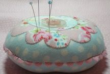 On needles and pins... / Pin cushion and needlebook love :) / by Wendy Olivas