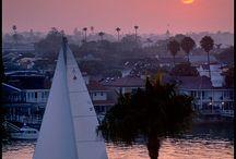 Laguna and Newport Beach