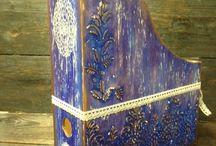 Pinturas em madeira
