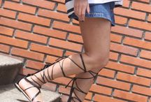 Lace up shoes