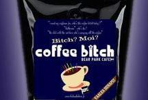 Coffee Bitch / I need my coffeine fix. who's the coffee bitch today? katherine? who's he? the slut with the red hair who's carrying all the coffee.