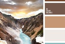 Home Paint Colors / Color ideas for the home I like!