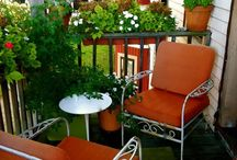 Balcony furniture ideas / by vix thur