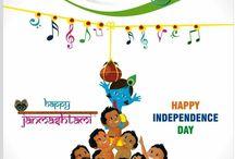 Janmashtami+Independence day