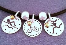 Triathlon Necklaces / All things Triathlon. The only difference between tri and triumph is a little umph!