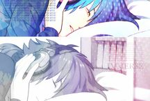 dramatical murder / DRAMAtical Murder, is a Japanese BL visual novel developed and published by Nitro+chiral.