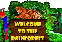Bug Homeschool Units--Rainforest