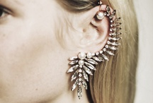 Earrings / Ear Candy at its finest. Long, short, spiky or sparkly, here are some that caught our attention.  / by WeTheAdorned