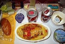I pasti nelle compagnie aeree