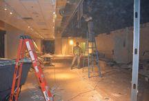 Lexington Home Showroom renovation / We're creating a dedicated showroom for Lexington Home Furnishings at RJ Thomas Ltd.